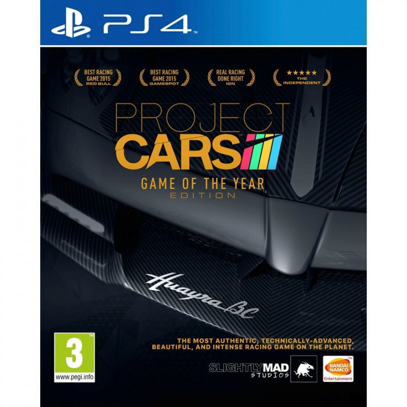 Žaidimas Project Cars PS4