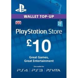 Virtualios piniginės papildymas PlayStation Network Card - £10  - 1