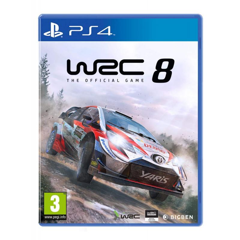 Žaidimas WRC 8 PS4 (išankstinis uzsakymas)