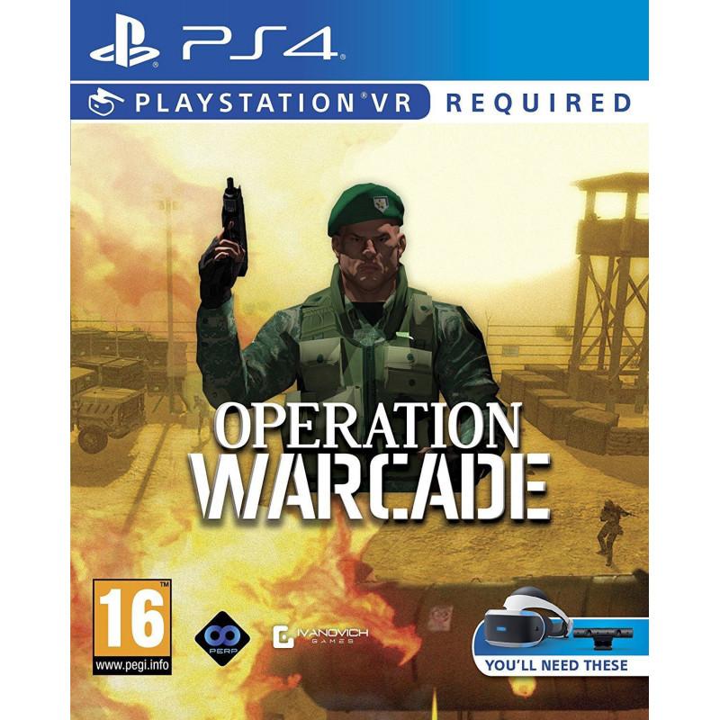 Žaidimas Operation Warcade VR PS4  - 1