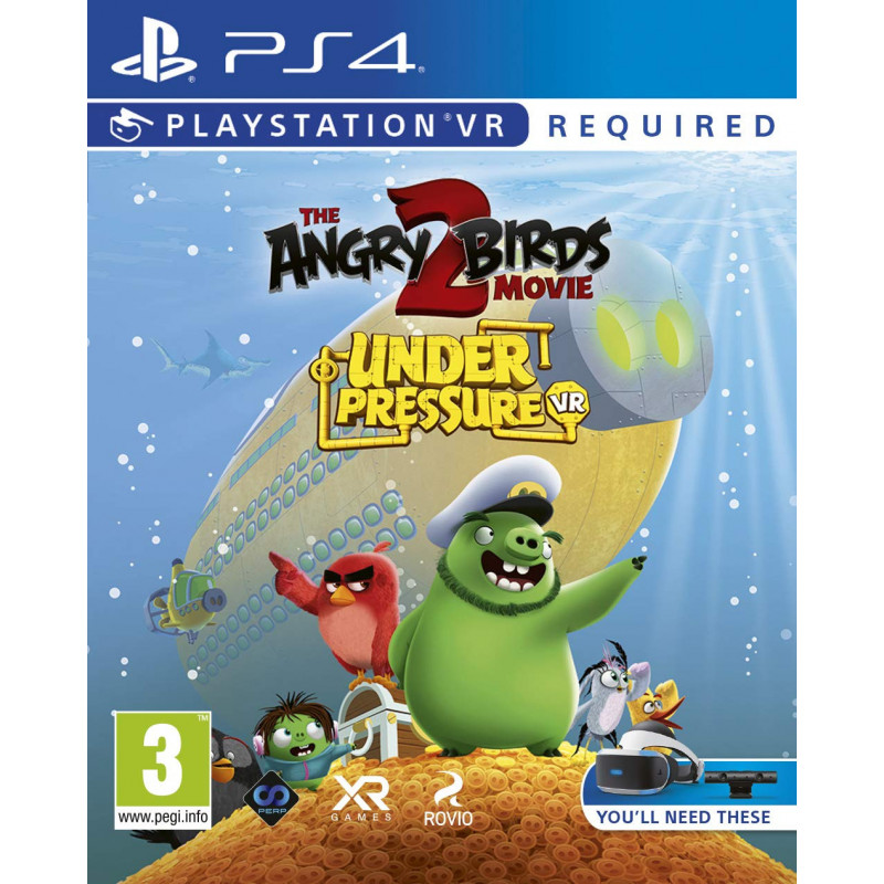 Žaidimas The Angry Birds Movie 2 VR: Under Pressure PS4  - 1