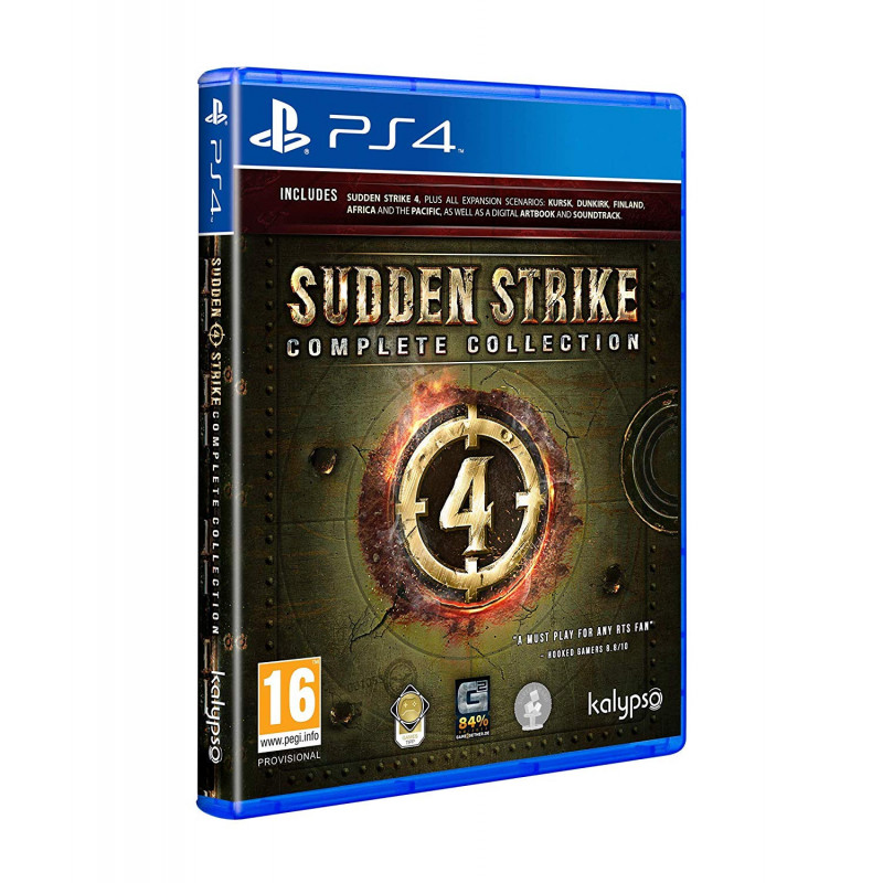 Žaidimas Sudden Strike 4 Complete Collection PS4