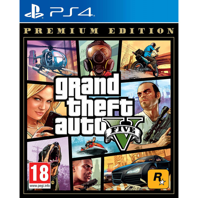 Žaidimas Grand Theft Auto V ( GTA 5 ) Premium Edition PS4 ROCKSTAR GAMES - 1