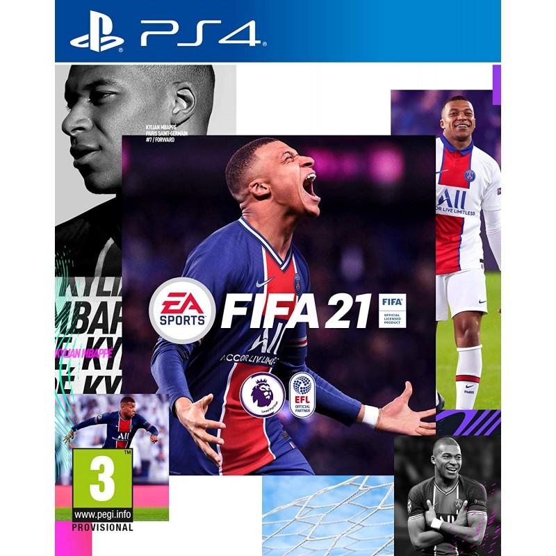 Žaidimas FIFA 21 PS4 (išankstinis užsakymas) EA - 1