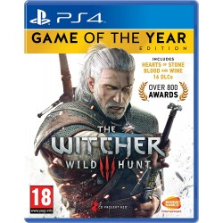 Žaidimas The Witcher 3 Game of the Year Edition PS4  - 1