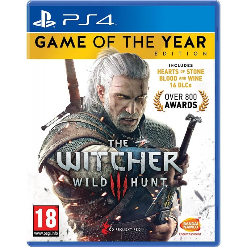 Žaidimas The Witcher 3 GOTY PS4  - 1