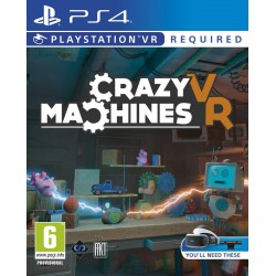 Žaidimas Crazy Machines VR PS4  - 1