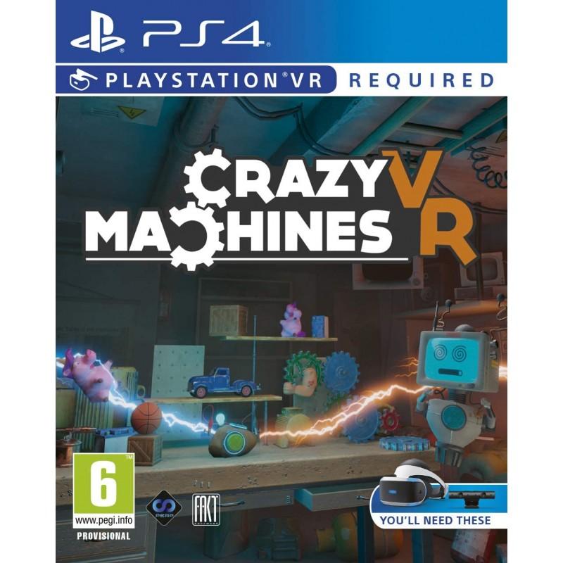 Žaidimas Crazy Machines VR PS4  - 1