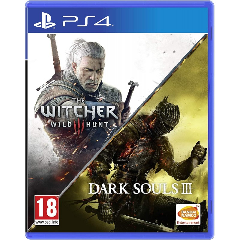 Žaidimas The Witcher 3 Wild Hunt + Dark Souls III PS4  - 1